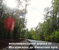 Велопешеходная дорожка от Московский до Филатова луга, фото