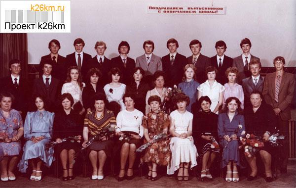 Встреча выпускников в школе 2063