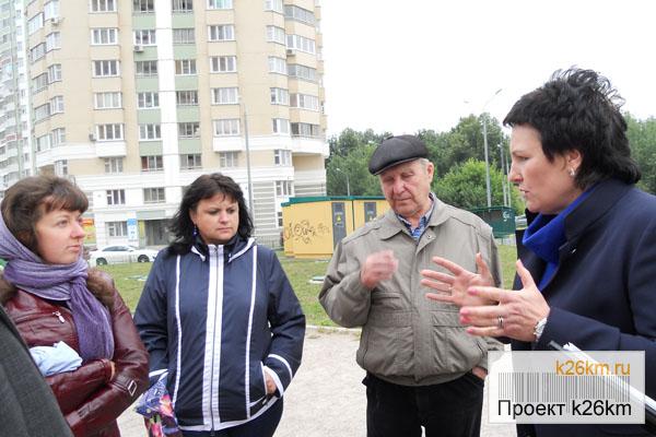 знакомство с жителями деревни