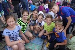 Праздничные мероприятия в Московском 1 июня