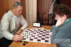 Новогодний турнир по шашкам