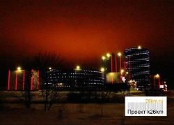 Новогоднее празднество в ТРК «Новомосковский»