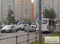 Маршрут №1129 Тропарево-Московский-Апрелевка