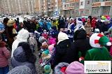 Дед Мороз поздравил жителей Града