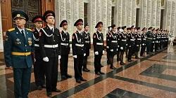 Кадеты Московского приняли присягу