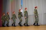 В Московском состоялся конкурс знаменных групп