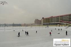 Расписание работы катка в Московском