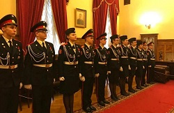 Кадеты-жуковцы вступили в ряды юнармии