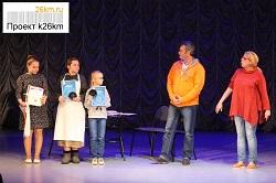 Сергей Барышев представил спектакль в ДК