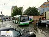 Очередной разгул непогоды в Москве