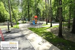 Продолжаются работы по обустройству парка