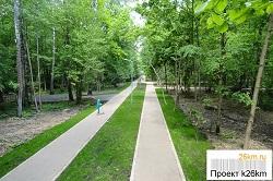В этом году начнется 2 очередь обустройства парка