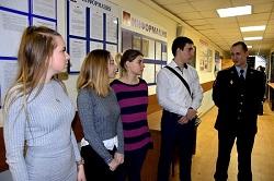 День открытых дверей в отделе полиции Московский
