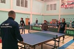 Результаты отборочных соревнований по пинг-понгу