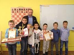 Итоги турнира по быстрым шахматам среди детей до 11 лет
