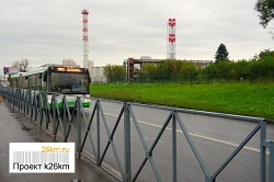 На маршруте 863 появились автобусы большой вместимости