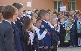 В этом году в школу пошло около 1000 первоклассников