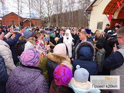 Храм святителя Тихона посетил патриарх Кирилл
