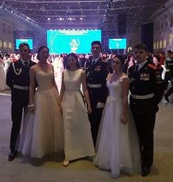 Школы Московского приняли участие в Кремлевском кадетском бале