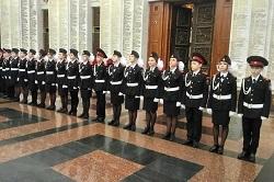 Кадеты из Московского приняли присягу на Поклонной горе