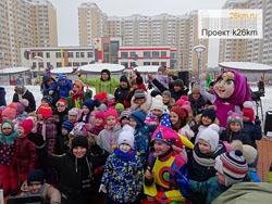Празднование Масленицы в Московском (часть 1)
