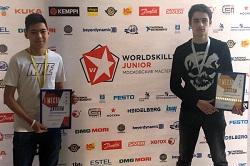 Ученики школы №2120 заняли призовые места в WorldSkills Junior