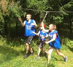В командном зачете семейная команда из Московского заняла 1 место