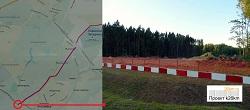 Продолжается строительство дороги Марьино - Саларьево