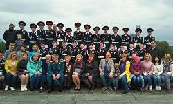 Кадеты из Московского приняли участие в параде на Поклонной горе