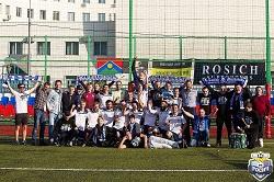 «Росич» стал чемпионом Первенства 2-й раз подряд!