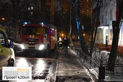 В Московском произошло возгорание в жилом доме
