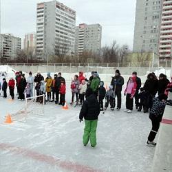 Соревнования для спортивных семей Московского