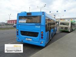 На маршруте автобуса №878 введена новая остановка