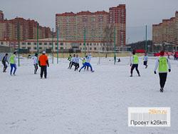Пройдет 5-й тур зимнего Первенства по футболу