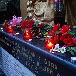 В Московском прошли памятные акции