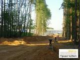 Фотоотчет о ходе строительства дорожки Московский-Филатов луг