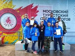 Педагоги школ Московского приняли участие в туристском слете