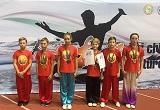 Победа на Международном Кубке по ушу в Минске