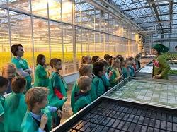 Экскурсия школьников на агрохолдинг «Московский»