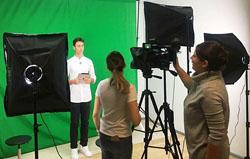 В школе №2120 открылись телестудия и кружок журналистики