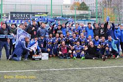 «Росич» завоевал чемпионство в третий раз подряд