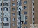 На велопешеходной дорожке установили камеры видеонаблюдения