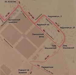 Автобусы №878, №879, №881 меняют свой маршрут в Московском