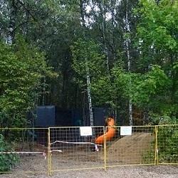 Детская площадка на Никитина временно закрыта
