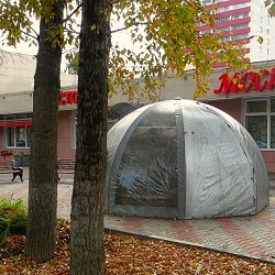 В Московском завершается сезон фонтанов
