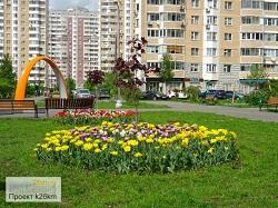 Клумбы Московского подготовят к весне
