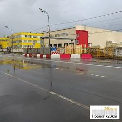 Ограничено движение по улице Солнечная