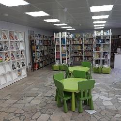 Библиотека начала приём и выдачу книг
