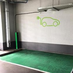 Зарядка для электромобилей в Московском