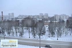 Циклон «Грета» засыпал Москву снегом